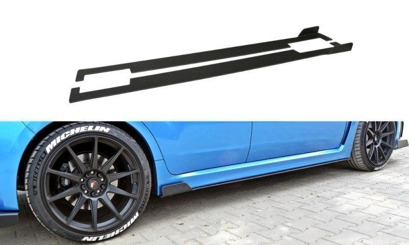 RACING SIDE SKIRTS DIFFUSERS Subaru Impreza WRX STI 2009-2011 - GRUBYGARAGE - Sklep Tuningowy